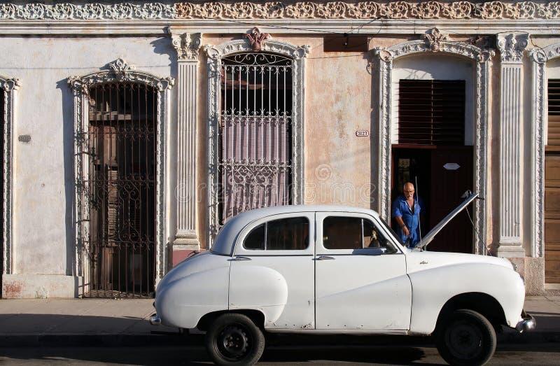 Cuba car stock photo