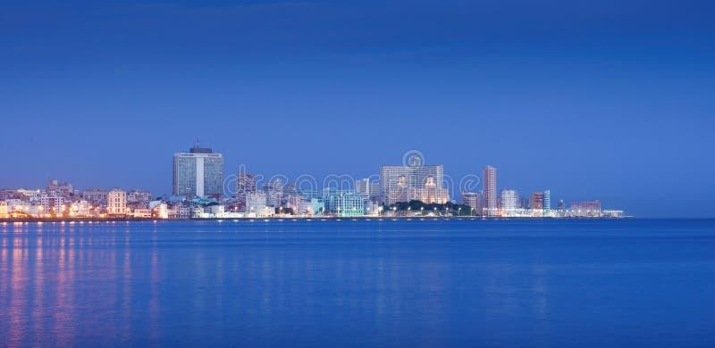 Cuba, Caribbean Sea, la habana, havana, skyline at morning stock photos