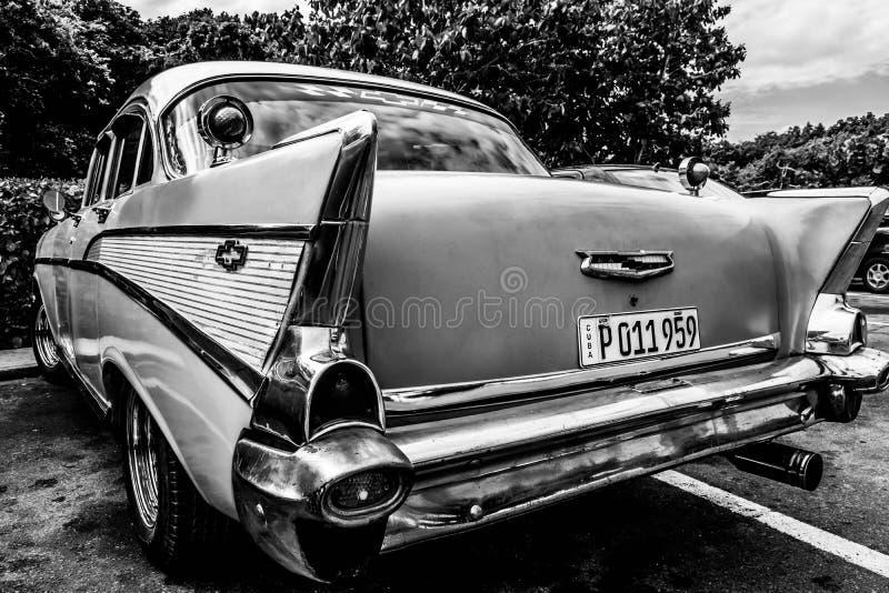 Cuba Cayo Santa Maria Chevrolet imagens de stock royalty free