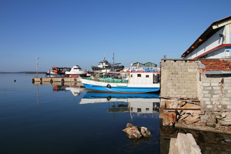 Cuba - Cienfuegos harbor royalty free stock photos