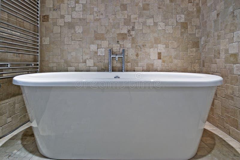 Cuba de banho fotografia de stock