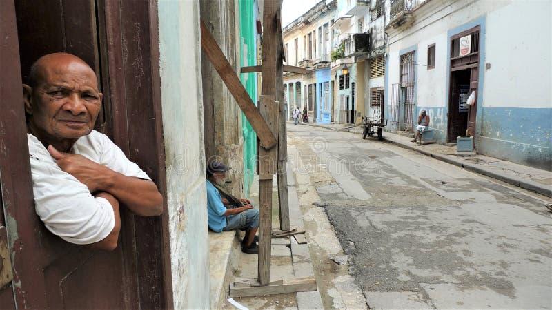 Cuba, Havana center city stock photos