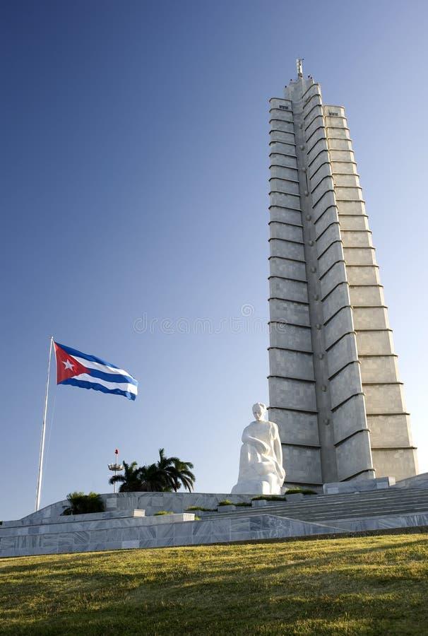 cuba Havana Jose marti zabytek fotografia stock