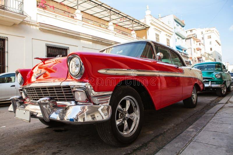 Cuba, Havana: American classic car. Cuba, Havana: Old American classic car royalty free stock image