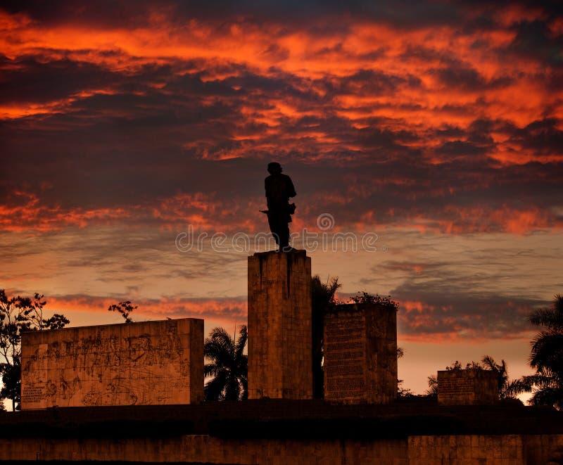 cuba Kerstman Clara Monument Che Guevara royalty-vrije stock afbeelding