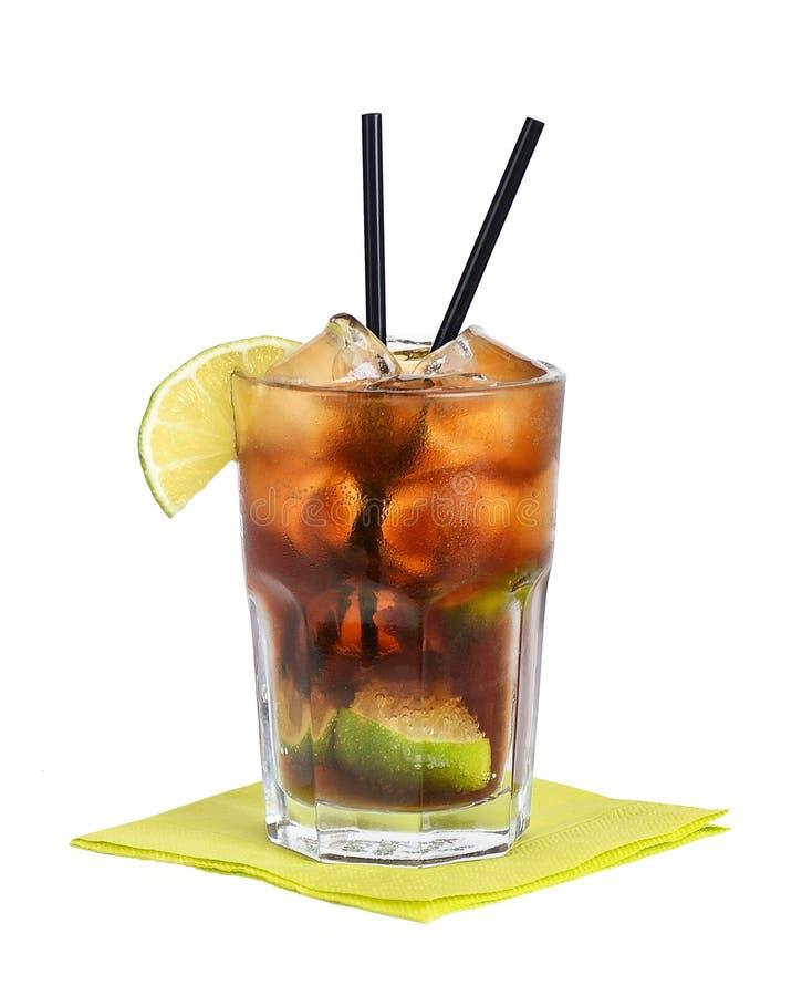 Cuba Libre Cocktail stock image