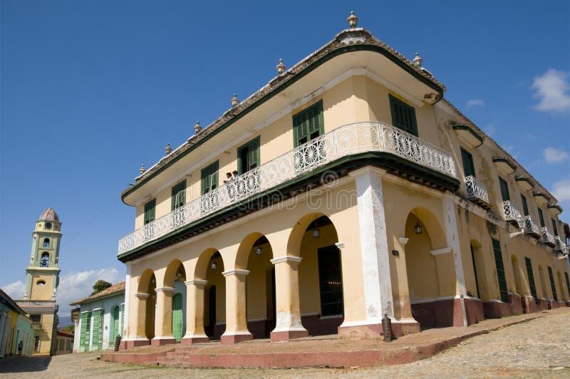 cuba museumromantico trinidad arkivfoto