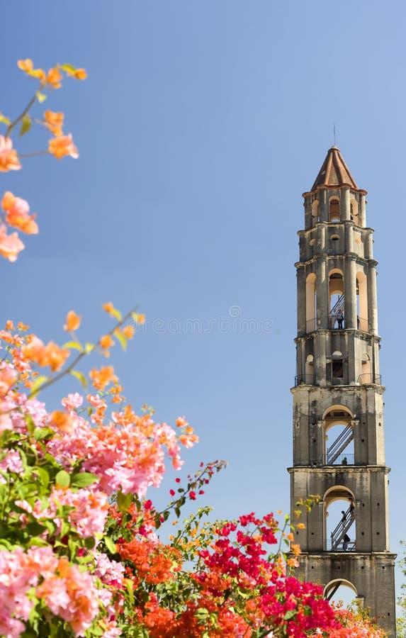 cuba nära den trinidad watchtoweren royaltyfri bild