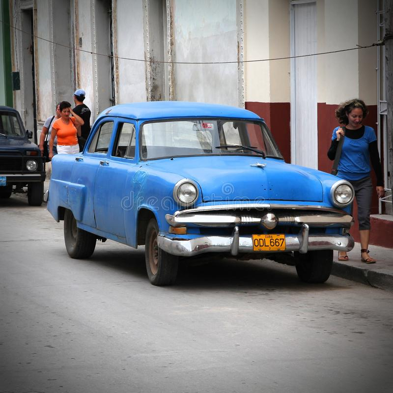 Cuba old car editorial photography. Image of landmark - 49167072