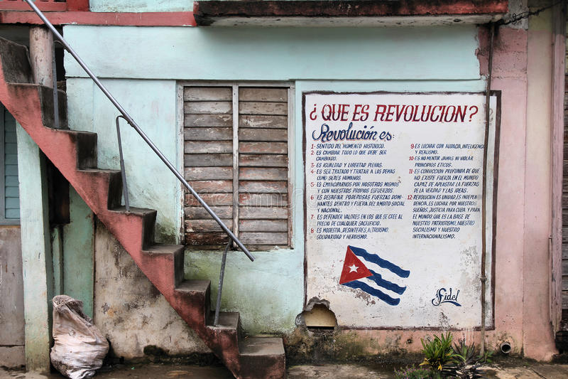 Download Cuba - Revolution editorial image. Image of words, communism - 25227635