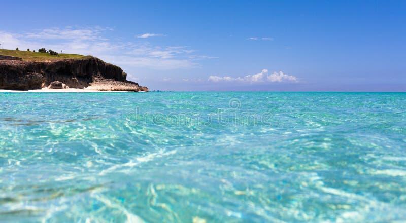 Cuba Seaside view of havana stock image
