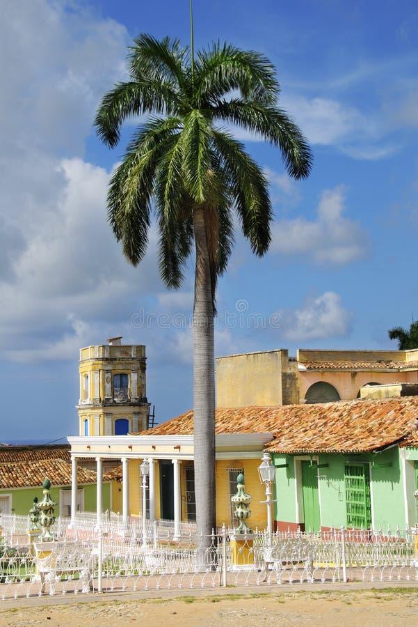 cuba town trinidad royaltyfria bilder