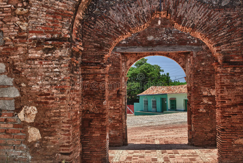 cuba trinidad royaltyfri foto