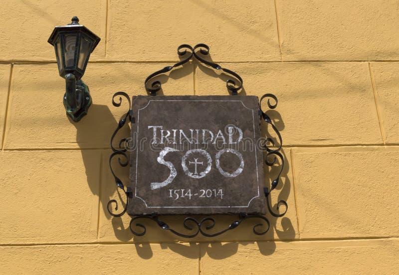 cuba trinidad royaltyfri fotografi
