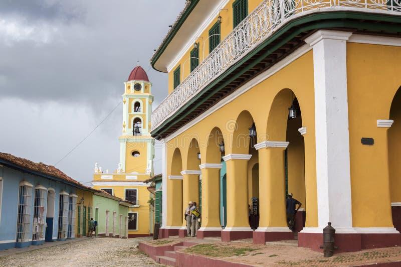cuba trinidad arkivfoto