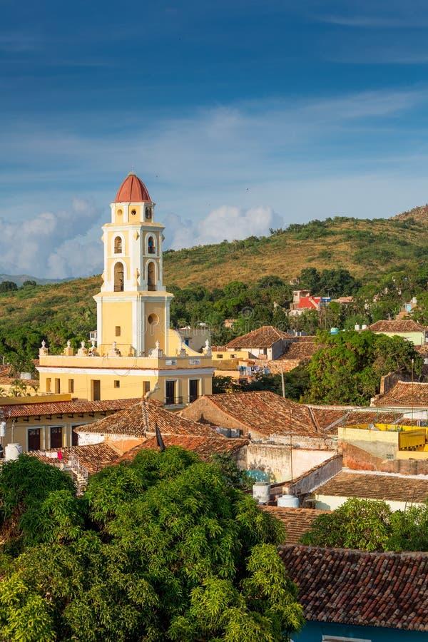 cuba trinidad Nationellt museum av anstr?ngningen mot banditer arkivfoto