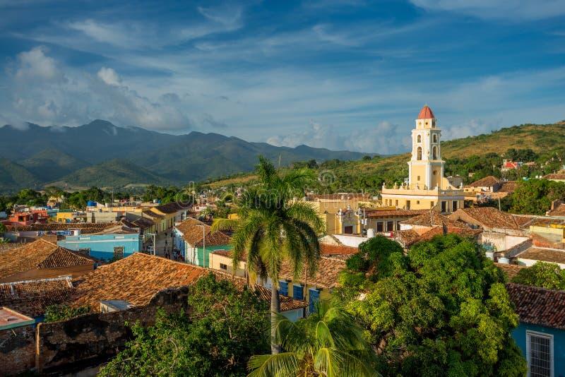 cuba trinidad Nationellt museum av anstr?ngningen mot banditer royaltyfri foto