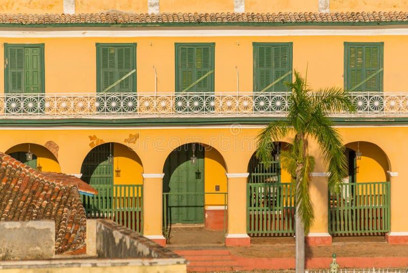 cuba trinidad Romantiskt museum arkivbild