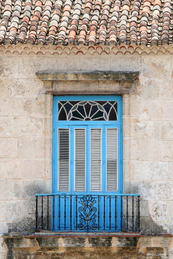 Cubaans Balkon stock fotografie