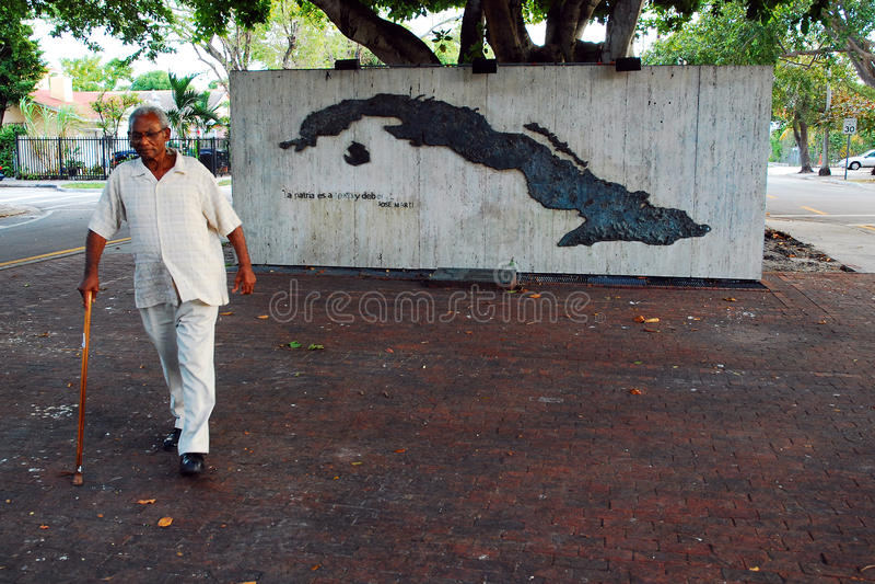 Cubaans Gedenkteken, Miami royalty-vrije stock foto's