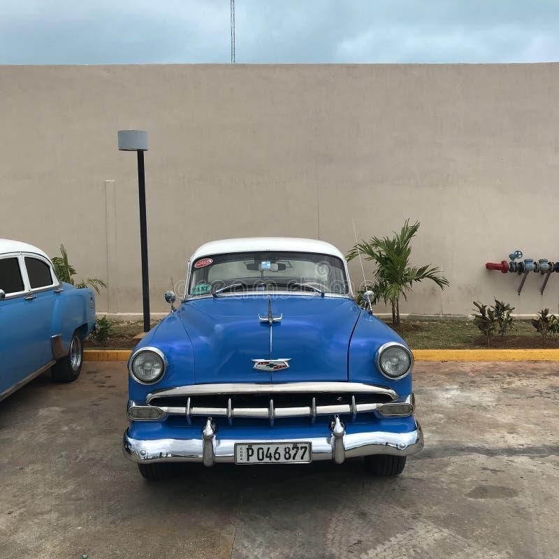 Cubaanse auto royalty-vrije stock afbeeldingen