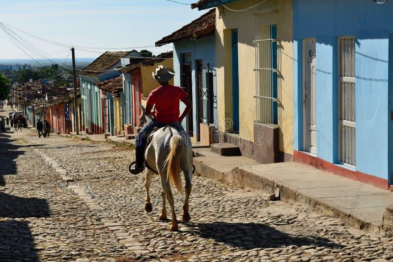 Cubaanse Cowboy royalty-vrije stock fotografie