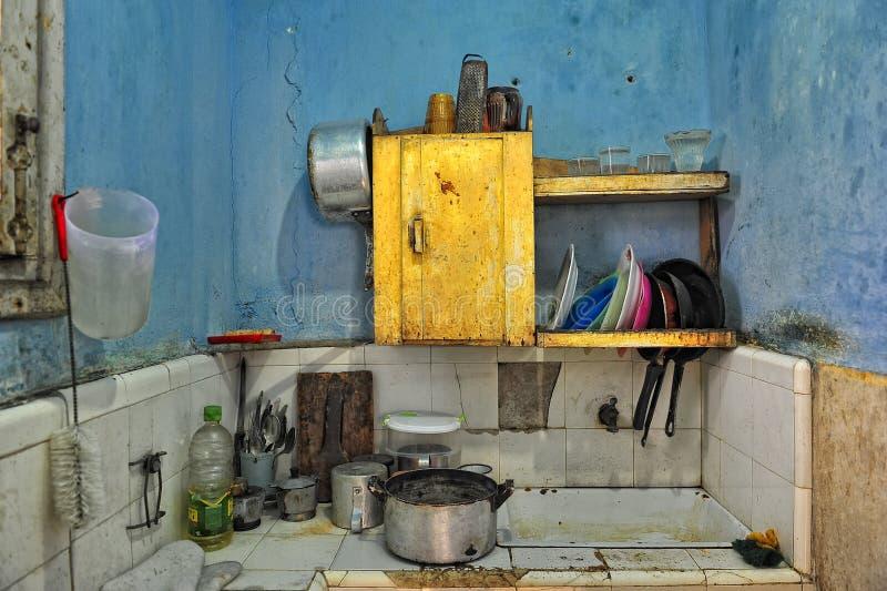 Cubaanse keuken royalty-vrije stock foto's