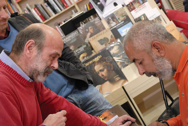 Cubaanse schrijver royalty-vrije stock afbeeldingen
