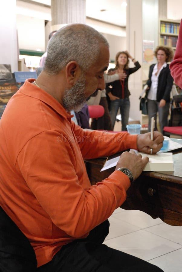 Cubaanse schrijver royalty-vrije stock afbeelding