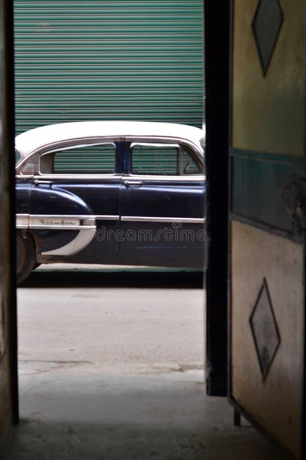 Cubacar& x27 sLaHabana στοκ εικόνες με δικαίωμα ελεύθερης χρήσης
