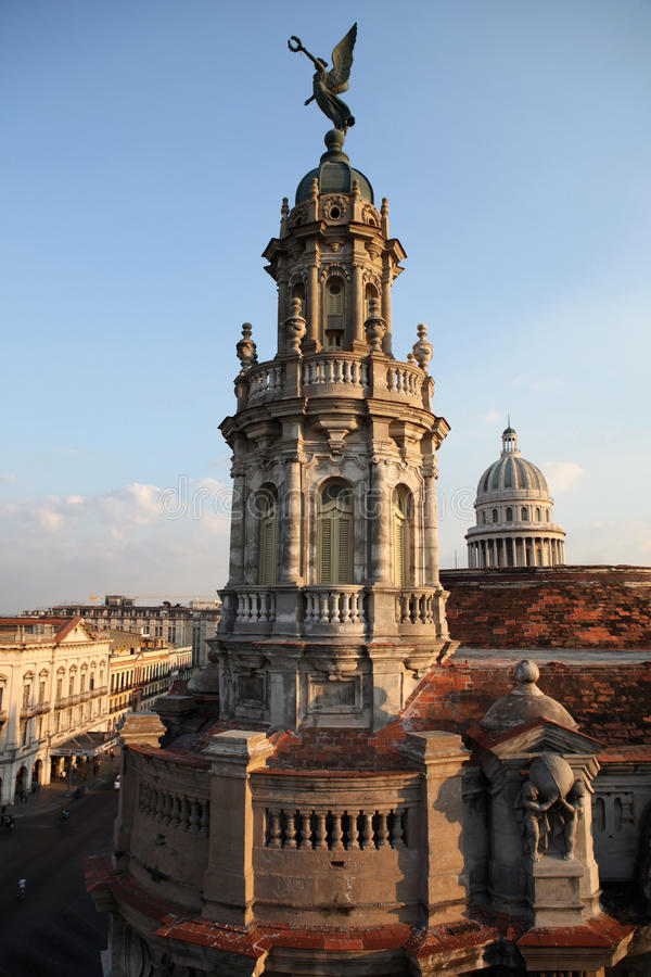 Download Cuban Architecture In Havana Stock Photo - Image: 12680470