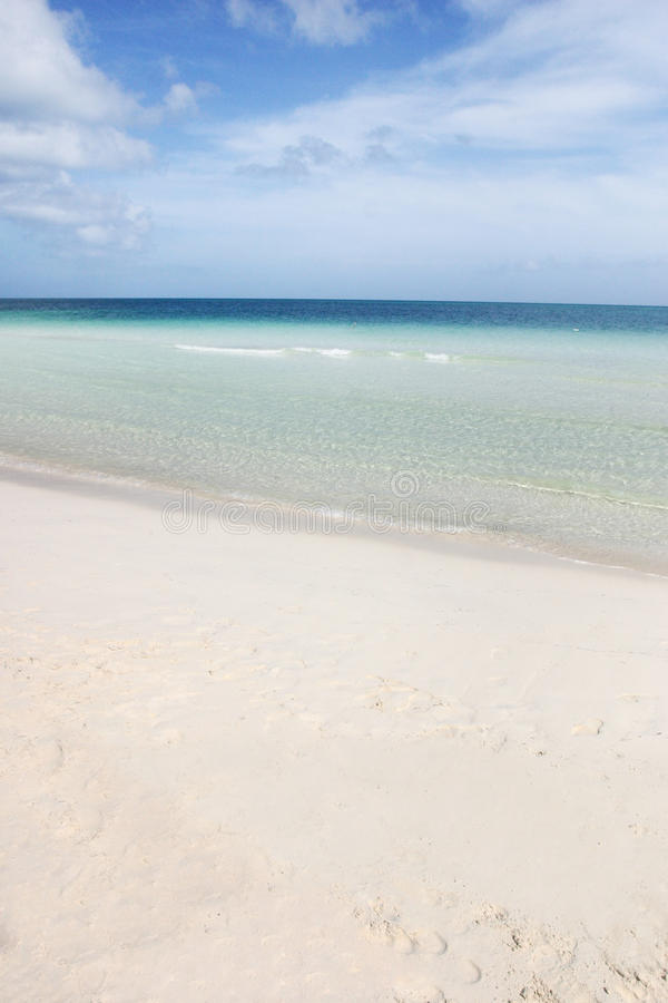 Cuban beaches royalty free stock image