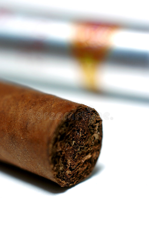 Cuban cigar stock photography