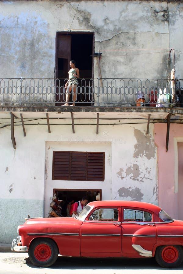 Cuban Classic Car royalty free stock photography