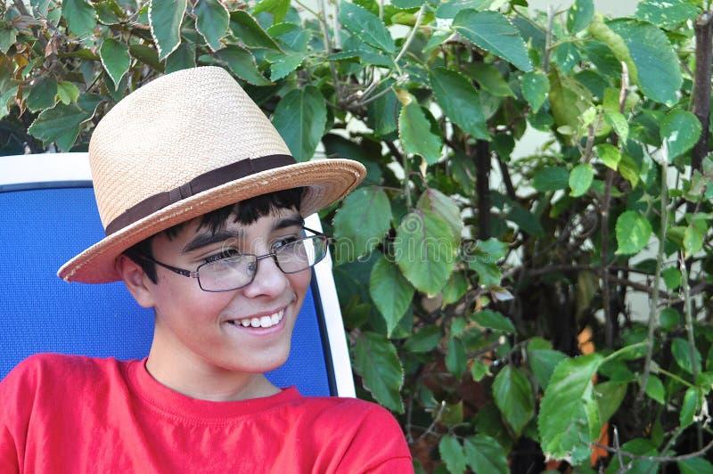 Cuban Cool Boy royalty free stock photos