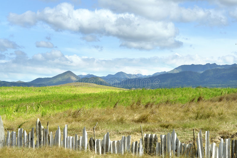 cuban countryside royalty free stock photography