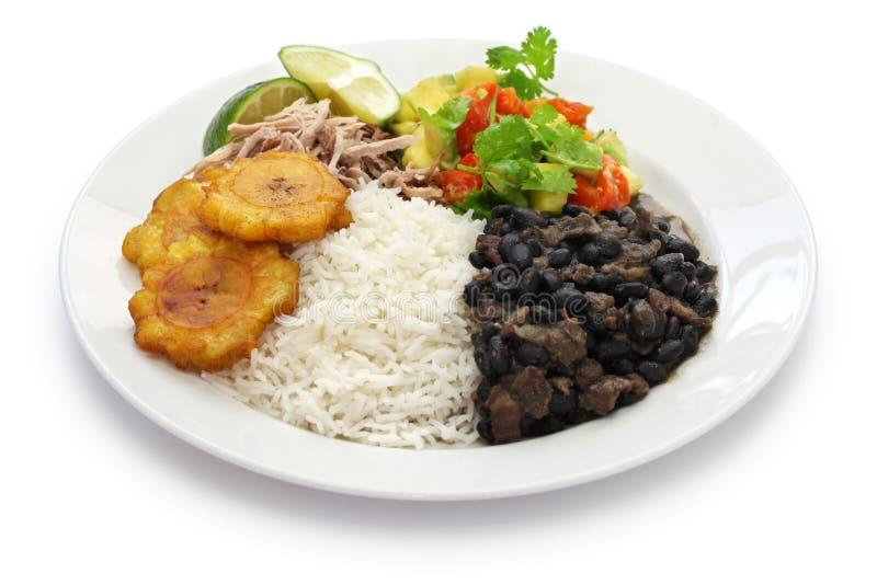 Cuban cuisine stock image