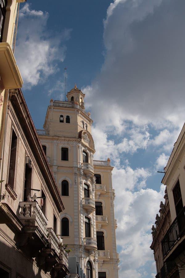 Cuban facade stock photo