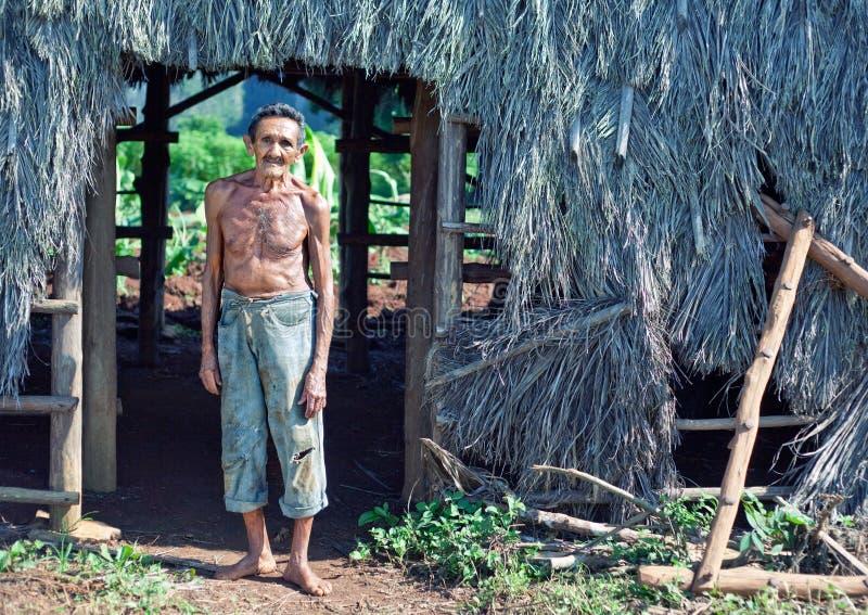 Cuban farmer royalty free stock images