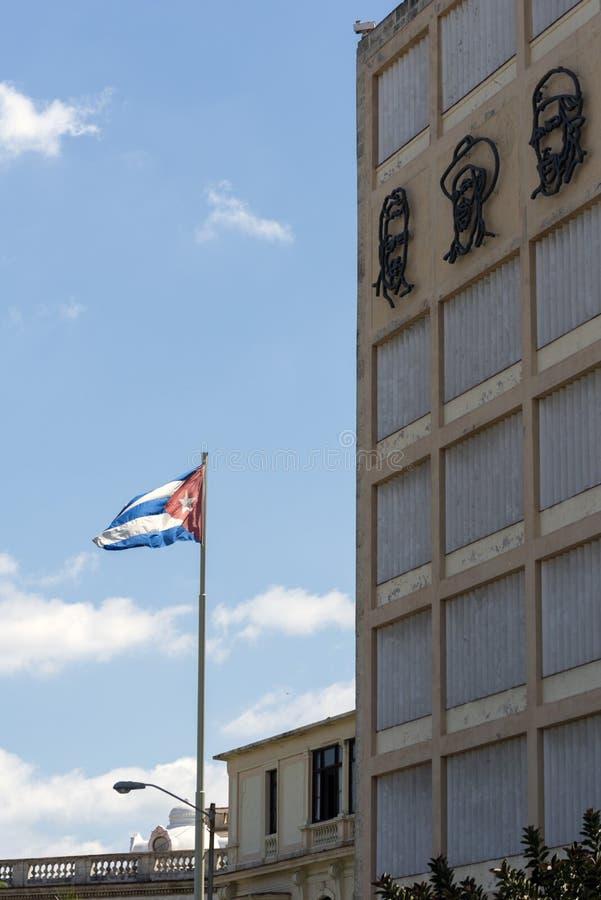 Download Cuban flag stock image. Image of havana, street, politicians - 40954401