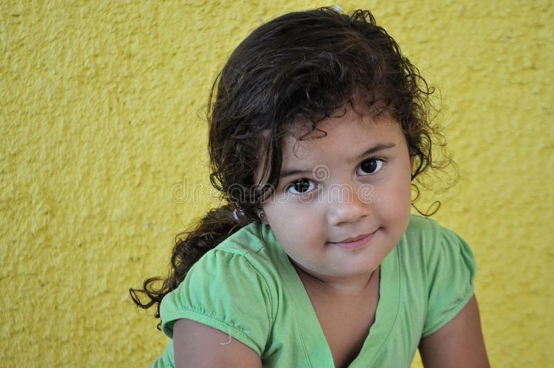 Cuban Girl royalty free stock photo