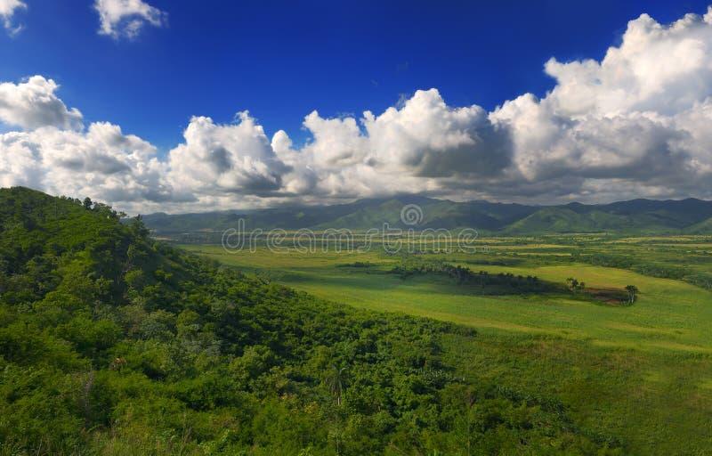 Cuban landscape royalty free stock images