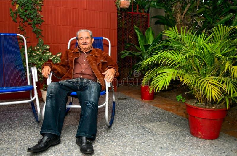Download Cuban man editorial stock image. Image of senior, sitting - 18341534