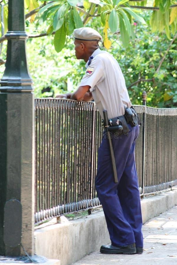 Cuban Policeman Editorial Photo