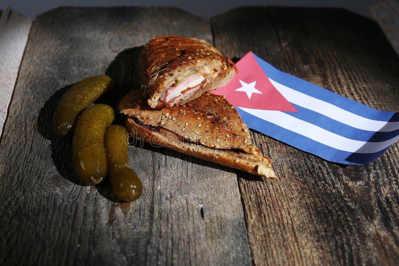 Cuban sandwich stock images