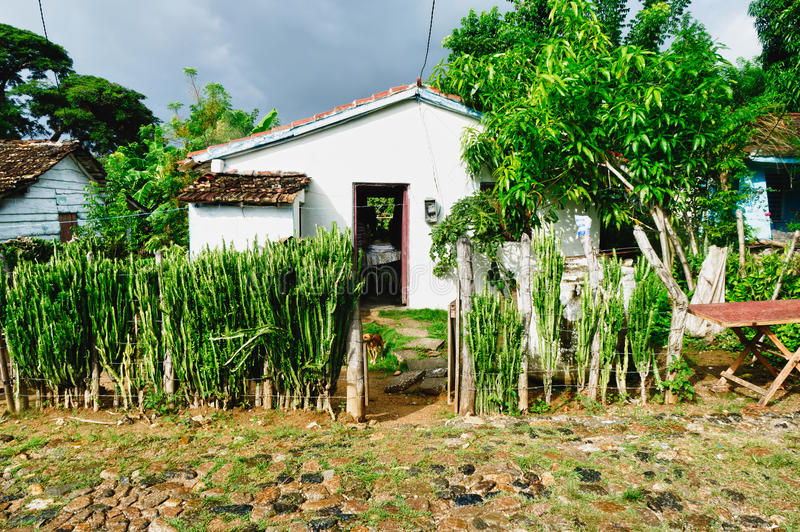 cuban typowy domowy zdjęcia royalty free