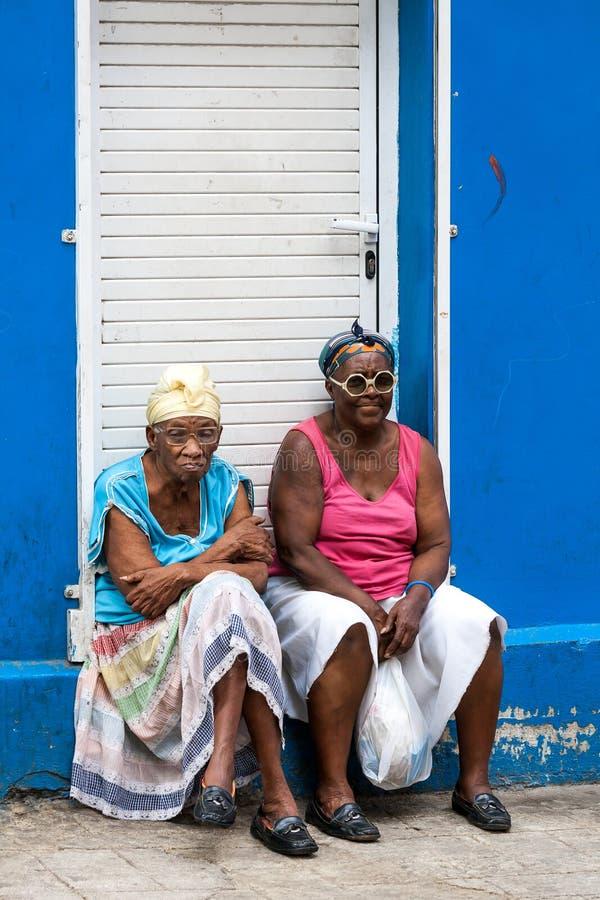 Cuban Woman royalty free stock image