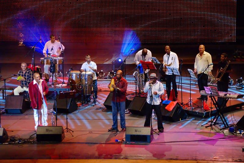 Cubanismo, Festival Lent royalty free stock image