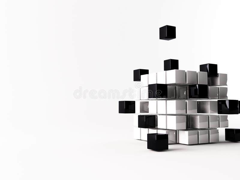 Cube royalty free stock images