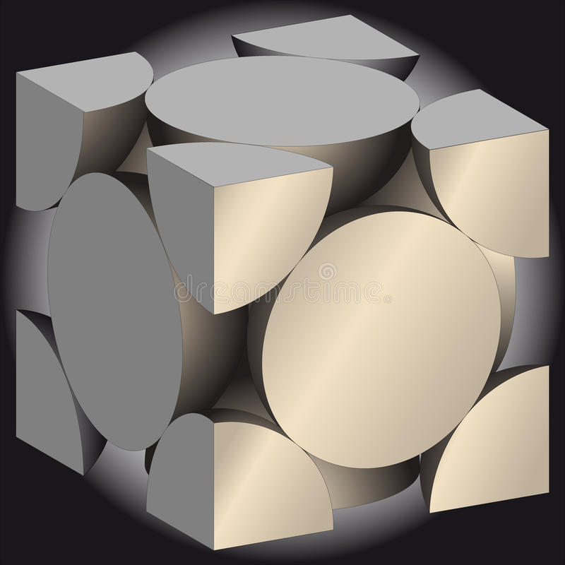 Download Cube stock vector. Image of copy, logo, icons, drawings - 15390132